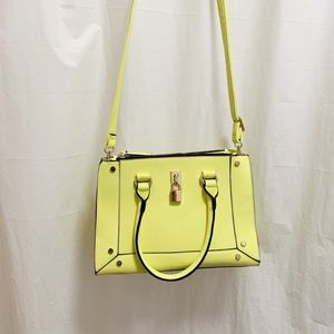 Call It Spring Yellow Purse